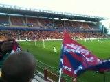 Les Corons des supporters lensois, match RC Lens - Clermont Foot 1er tour CDL 11/12