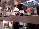 Dans les cuisines du D'Arville avec Olivier Bourguignon