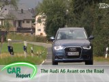 Audi A6 Avant on the Road