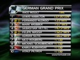 F1 - Hamilton gewinnt auf dem Nürburgring