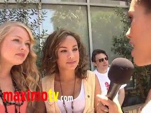 "Savannah Jayde and Kelli Goss at ""Ice Cream For Breakfast"""