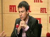 Manuel Valls, député-maire PS d'Evry, dans l'Essonne, invité de RTL (25 juillet 2011)