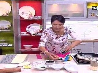 Jalousie aux légumes et Couronne aux anchois