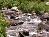 360° de la vallée d'eyne et cascades dans les Pyrénées orientale