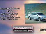 Essai Audi A6 2.4 et 2.7 TDI - Autoweb-France
