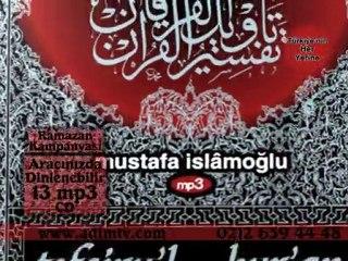 Mustafa İslamoğlu Tefsir dersleri