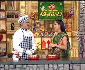 Abhiruchi-Kobbari Annam-Daniya salad-Mirchi Masala Recipes-Paneer Rolls-02
