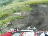 VTT DH Super besse rouge juillet 2011 (boue)