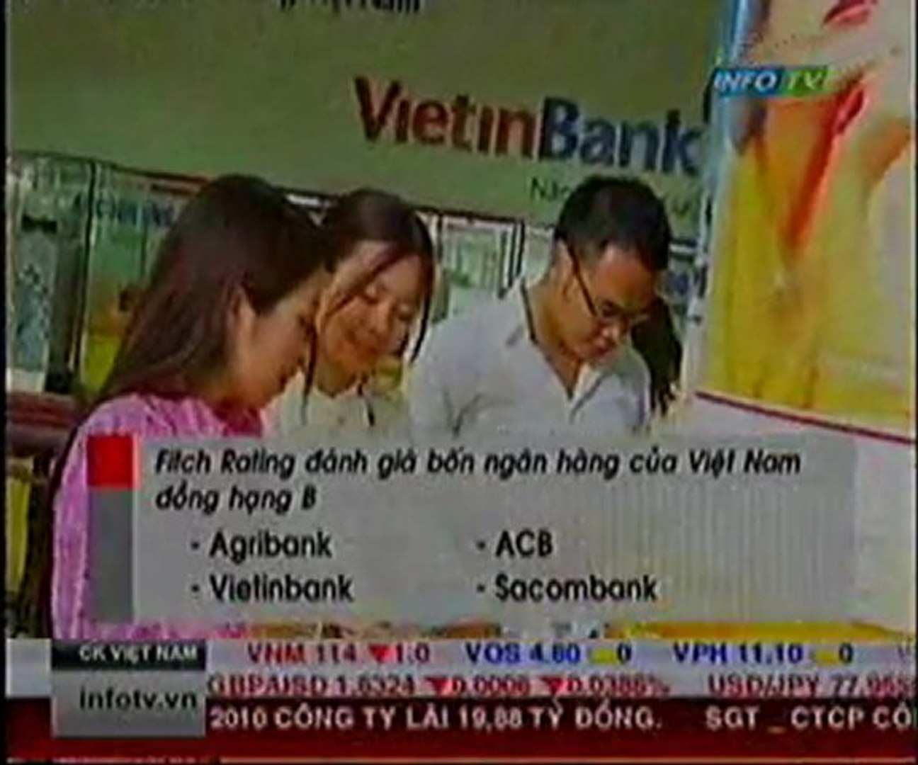 Fitch Rating đánh giá 4 ngân hàng của Việt Nam đồng hạng B