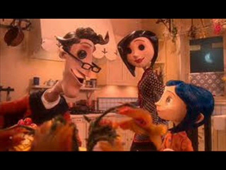 Coraline Movie Animated Trailer Hd Dailymotion Video
