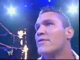 WWE Raw - Undertaker warns Randy Orton 2005