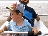 max axel moi mer Quend plage kayak