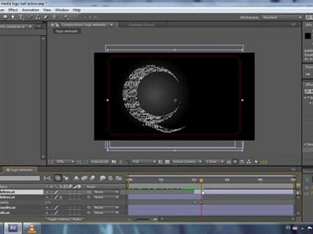 Animacion logo efecto Ball Action - Tutorial After Effects