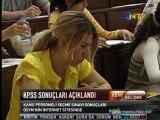 KPSS A Grubu ve Öğretmenlik Sınavı sonuçları açıklandı