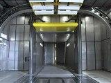 Mercedes Benz new climate and wind tunnel Sindelfingen 2011 Warm tunnel