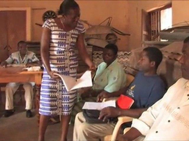 Pierre,volontaire pour l'association Agir ABCD au Togo
