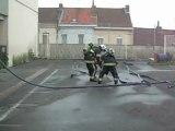 Anzin : Suivez les examens des sapeurs-pompiers volontaires