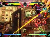 Ultimate Marvel vs Capcom 3 Hawkeye Vs. Strider Hiryu Gameplay Trailer