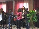 j'aime quant mon fils et mes enfants spirituels chantent