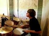 Cendrillon - Telephone - Drum Cover ( reprise batterie)