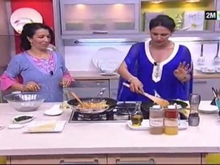 Recette de Mhancha aux Légumes et Poulet, Soupe a la Citrouille