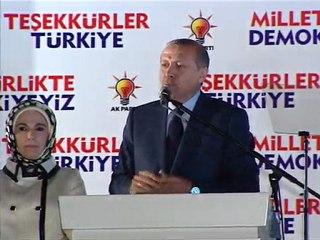 Başbakan Recep Tayyip Erdoğan Meşhur Balkon Konuşması
