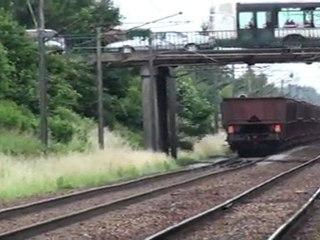 BB 27000 et convoi vide du 3600 Tonnes - 25-06-2011