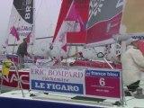 Départ des 47 concurrents de la Solitaire du Figaro