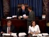 Senate votes to end debate on Democrat debt package
