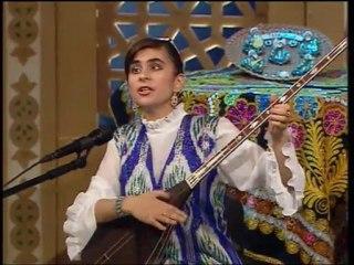 "Dilfuza Nurmetova - ""Yor bilib"", ""SHUKRONA"" dutor players ensemble."
