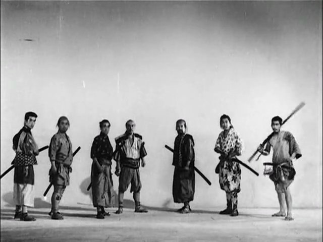 Les sept samourais - trailer inédit - Akira Kurosawa (bande annonce)