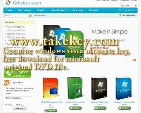 windows vista free product key