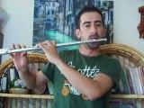 Sürgün... Yan Flüt, flüt amatör deneme