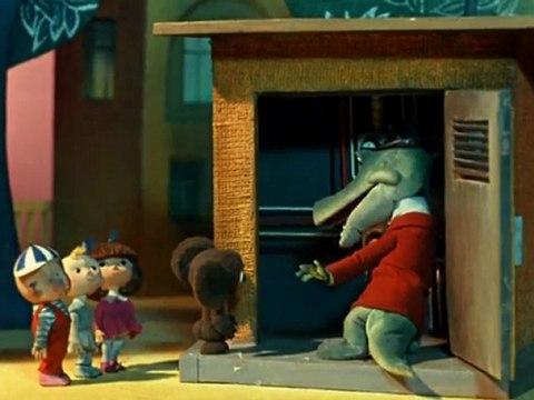 Russian animation: Cheburashka (+English subtitles) 1971