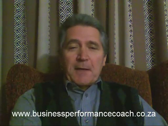 Business & Personal Performance Coach -Feeling Inferior