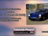 Essai Porsche 911 S - 911 Carrera RS (1973) - Autoweb-France