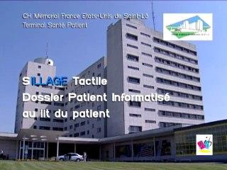SILLAGE Tactile au CH de Saint-Lo (50)