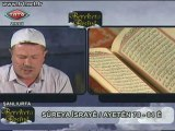 Bünyamin Kahvecibaşı sûreya îsrayê Remezanê 2011 TRT 6