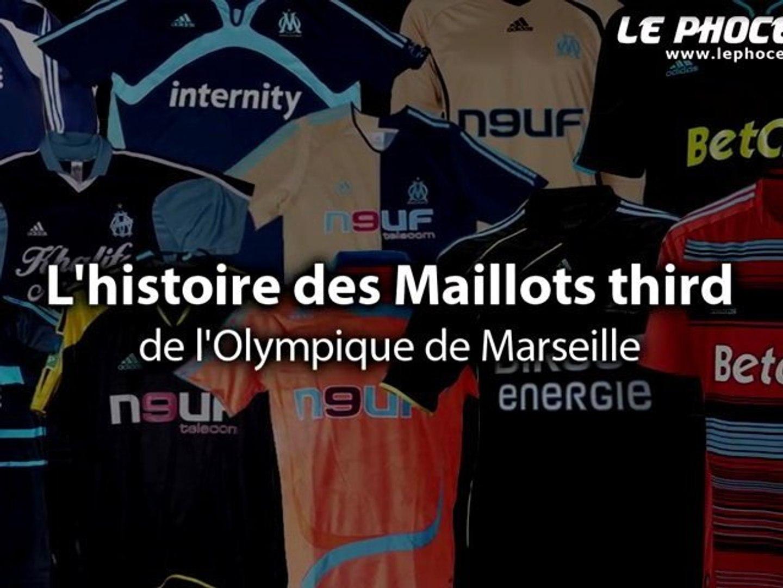 Clip : le 3e maillot de l'OM, depuis 1997