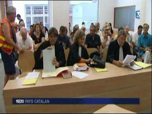 Audience du 3 août 2011 - Ouverture illégale Auchan Perpignan