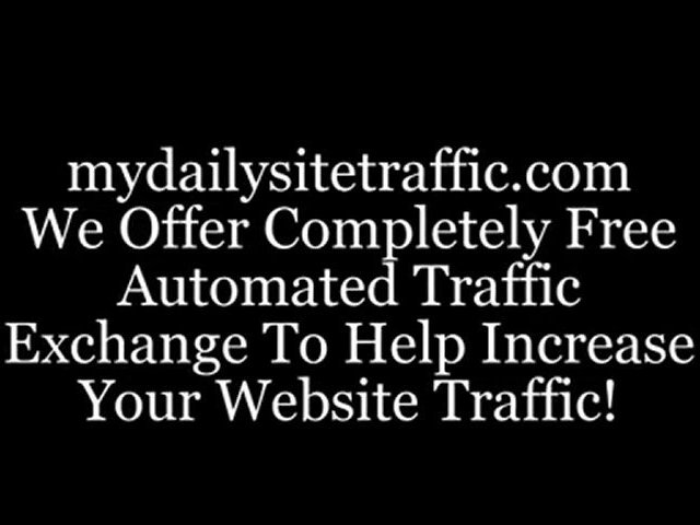 Free automated traffic exchange, daily site traffic for website
