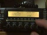 CW sur 28Mhz