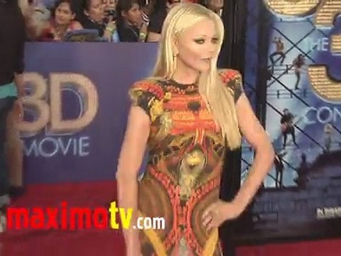 Charlotte Ross GLEE The 3D CONCERT MOVIE Premiere