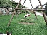 Ely de la Voûte Azurée, jeu avec Sugus 07.08.2011