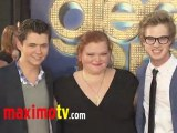 """The Cast of GLEE Project at """"GLEE THE 3D CONCERT MOVIE"""" Premiere"""