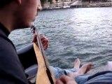 Pont des Arts (Paris) - délire avec mon frère