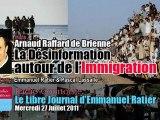 Arnaud Raffard de Brienne: La Désinformation autour de l'Immigration (Le Libre Journal d'Emmanuel Ratier, Radio Courtoisie)