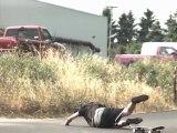 Slow motion skateboarding slams  bails  falls (1000 fps)