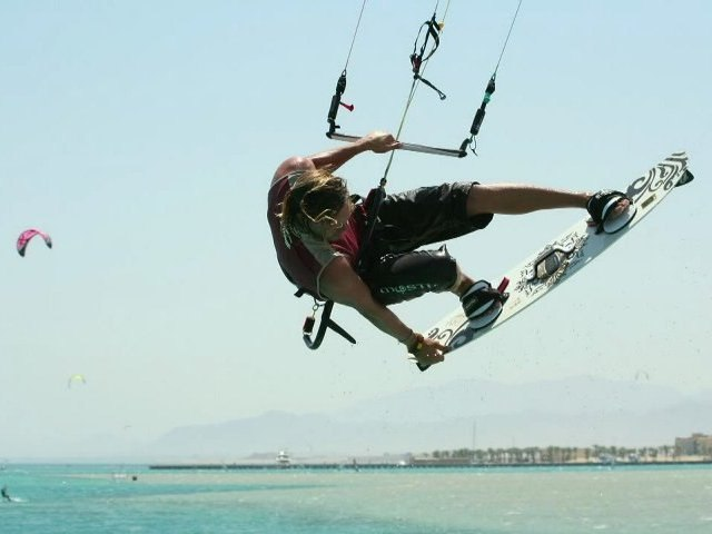 Kite surf à Safaga