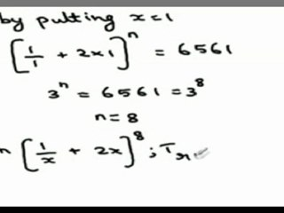 Summing of all terms of a Binomial expansion involving surds